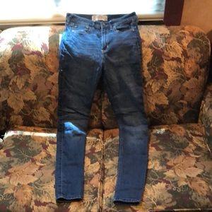 FINAL PRICE Hollister Super skinny jeans highrise